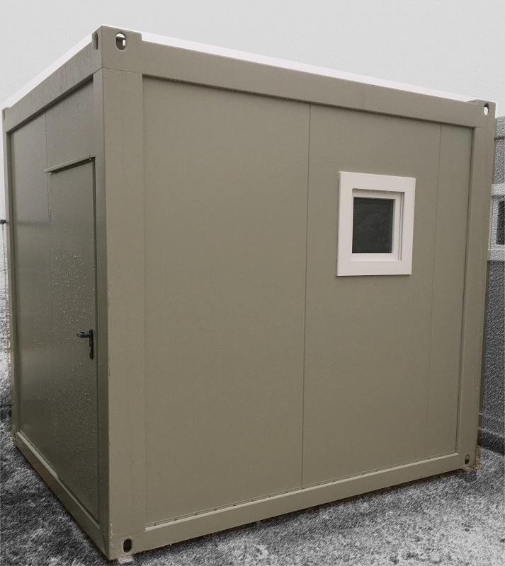 Container Dusch und WC